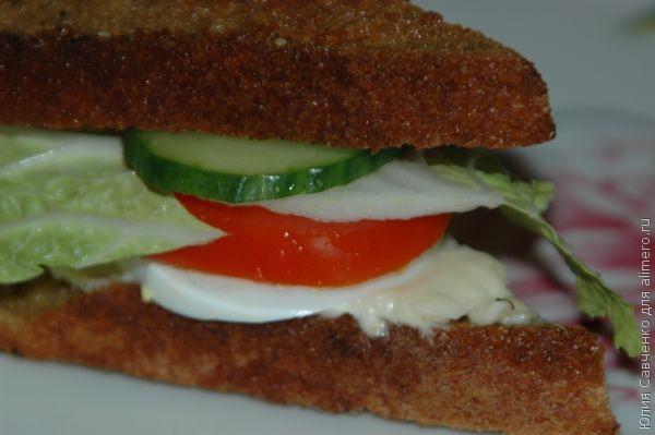 Чем перекусить в школе? Наука о бутерброде.