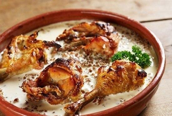 Рецепт соуса для курицы с фото простые