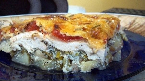 Рецепты запеканок из картошки и курицы