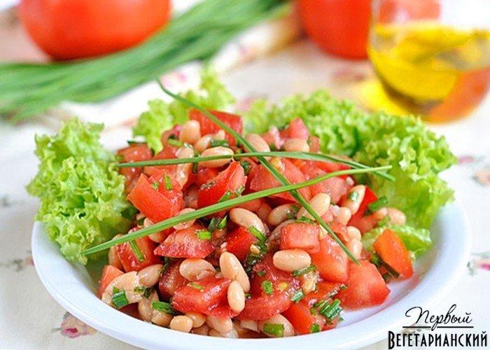 Рецепт салата фасоли фото